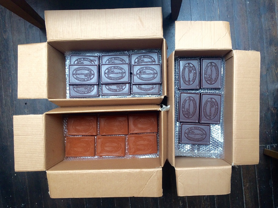 New shipment G DE GRAAFF CHOCOLAAD arrived